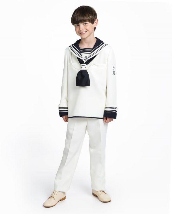 traje de comunión marinero niño timoneles