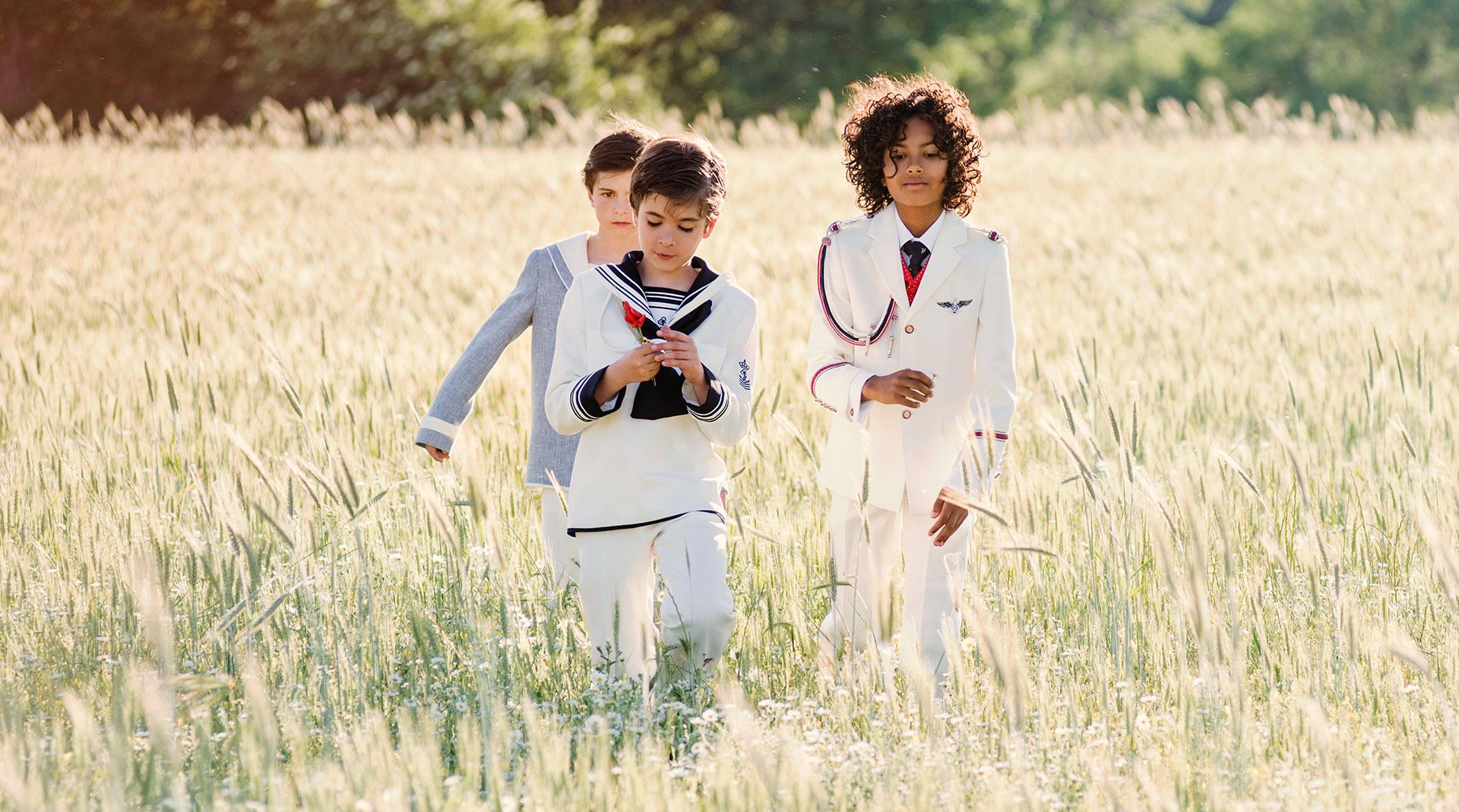 trajes de comunión timoneles for Kids home