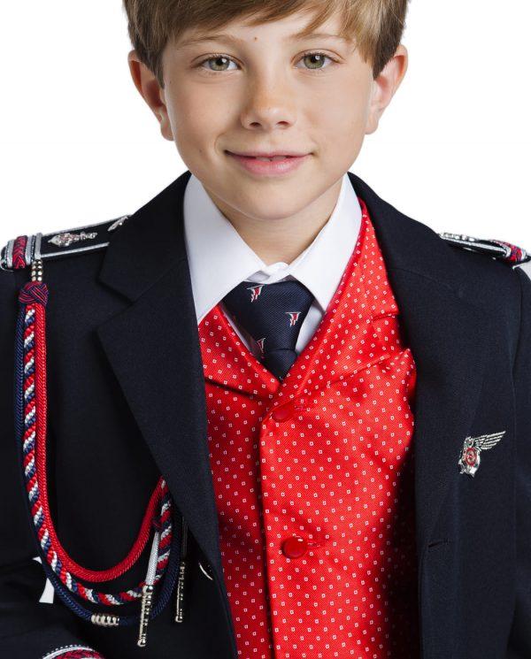 traje de comunión para niño de almirante