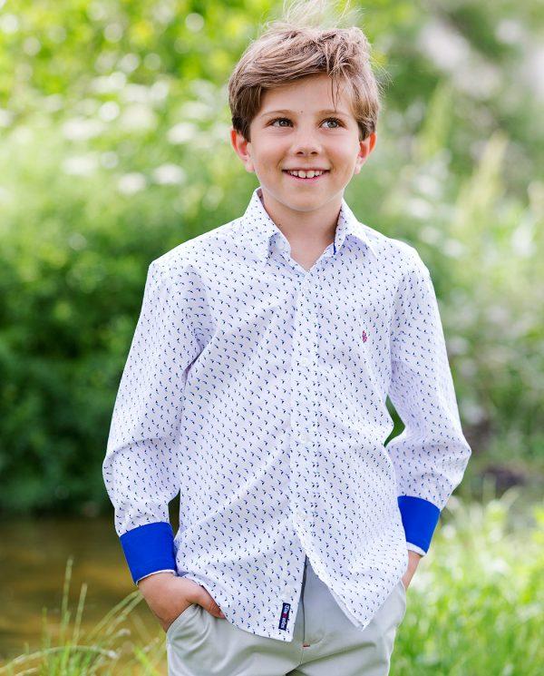 Timoneles camisas sport de comunión para niños