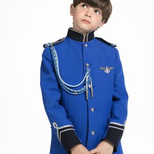 Timoneles trajes de comunión de almirante para niños