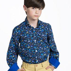 camisas sport de niño