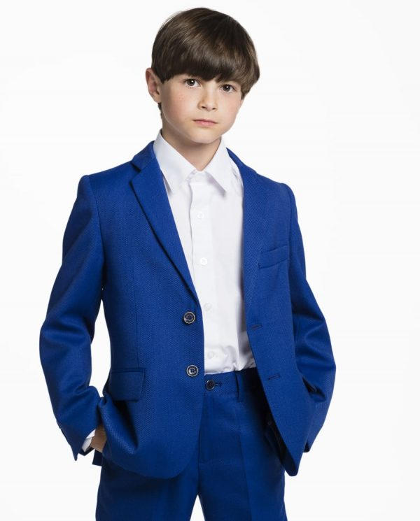 traje de chaqueta para niño